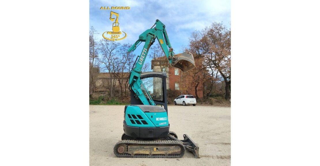 Escavatore Kobelco SK20-UR Libetti